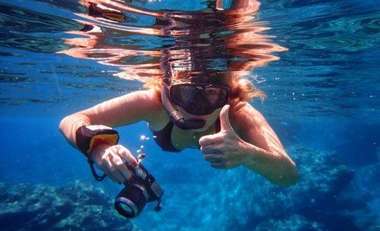 in Grecia nelle acque di Amorgos