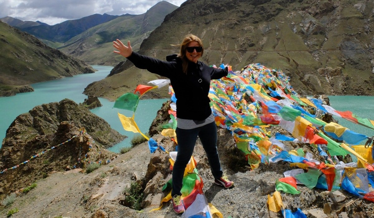 Velentina Borghi in Tibet