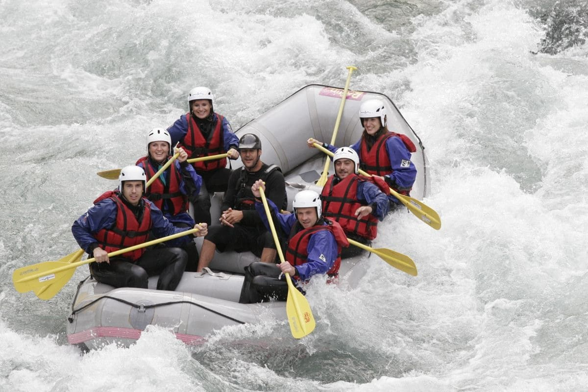 Dove fare rafting e canyoning vicino Milano