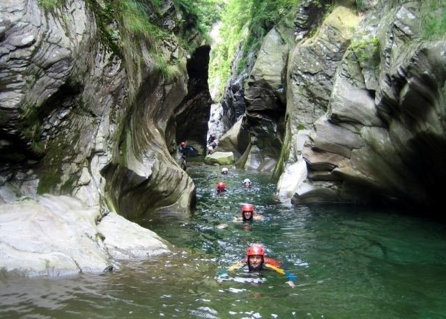 canyoning lombardia