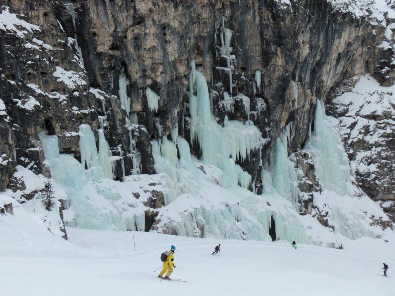 cascata di ghiaccio dell'Armentarola