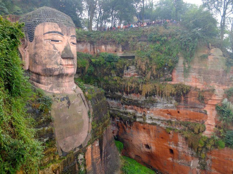 Buddha di Leshan