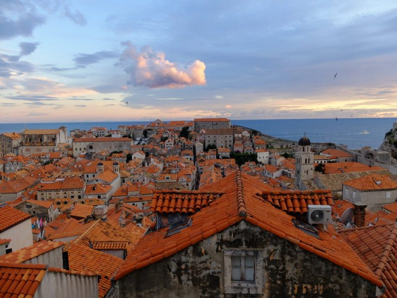 Dubrovnik vista dall'alto