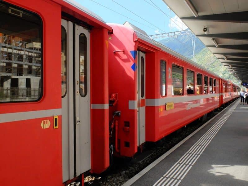 Bernina Express - Il trenino rosso del bernina