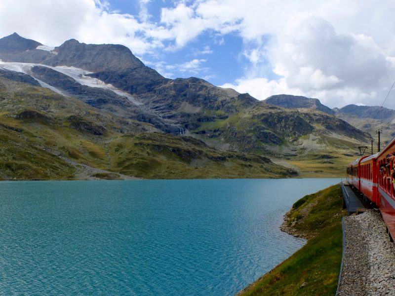 Bernina Express: il trenino rosso del Bernina