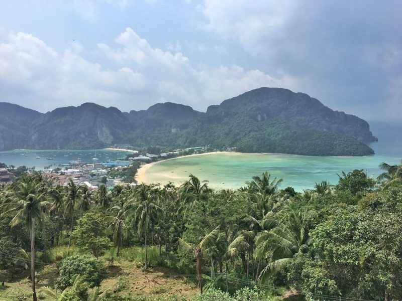 Phi Phi Island - view point