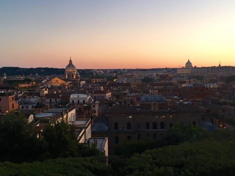 osa vedere a Roma