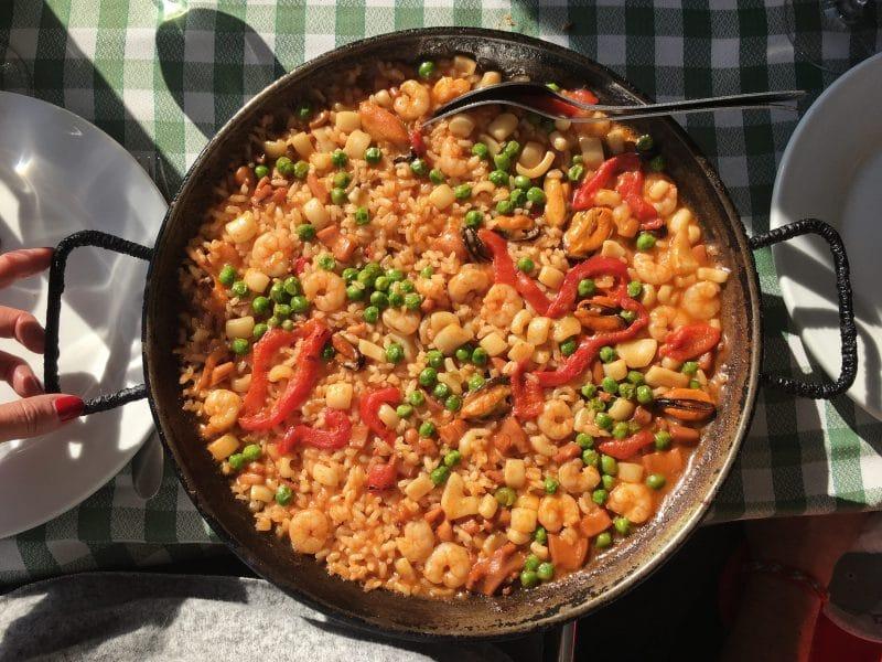ristoranti barcellona - paella