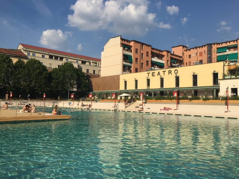 piscine all'aperto Milano