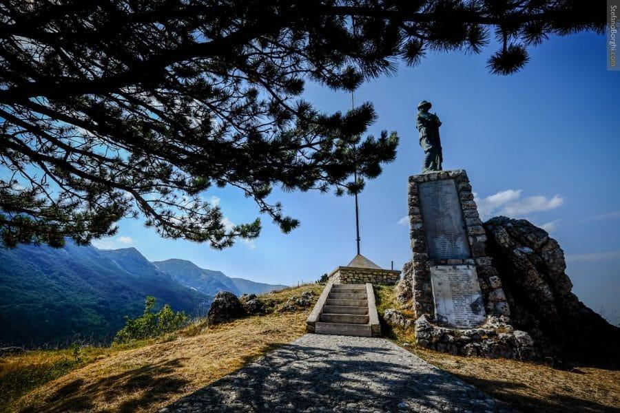 Ovindoli - Monumento dell'Alpino