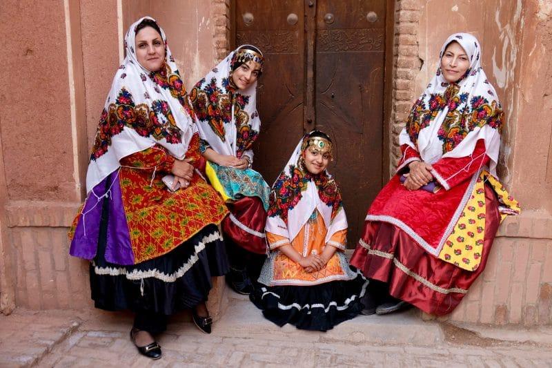 Viaggio in Iran - donne ad Abyaneh