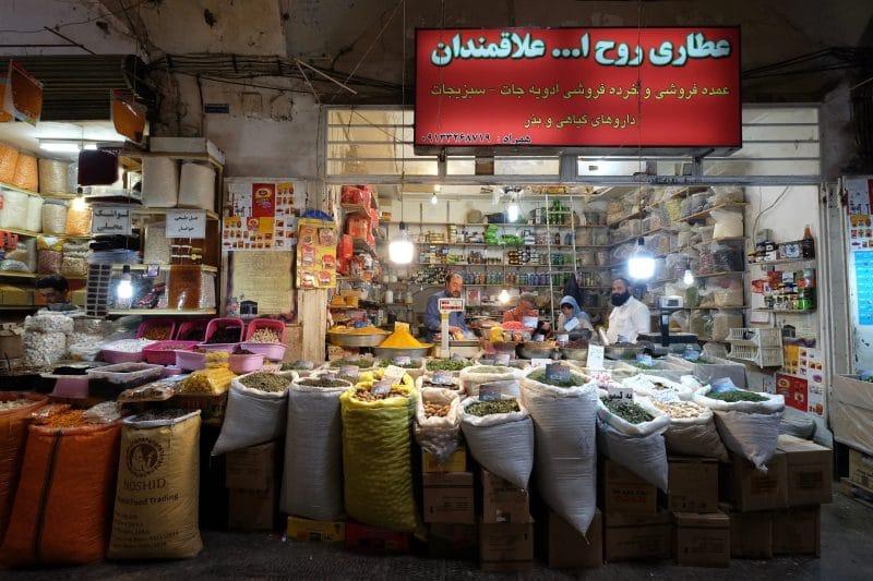Viaggio in Iran - bazaar di Isfahan