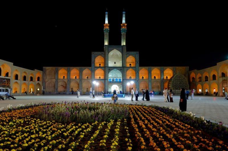 Viaggio in Iran - Yazd - complesso di Amir Chakhmaq