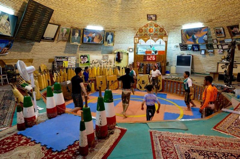 Viaggio in Iran - Yazd -palestra