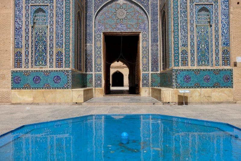 Viaggio in Iran - Yazd - Moschea Masjed-e-Jameh