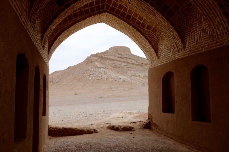 Viaggio in Iran - Yazd - castelli nel deserto