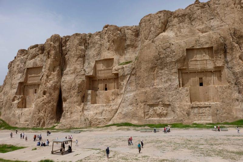 Viaggio in Iran - necropoli di Naqsh-e-Rostam