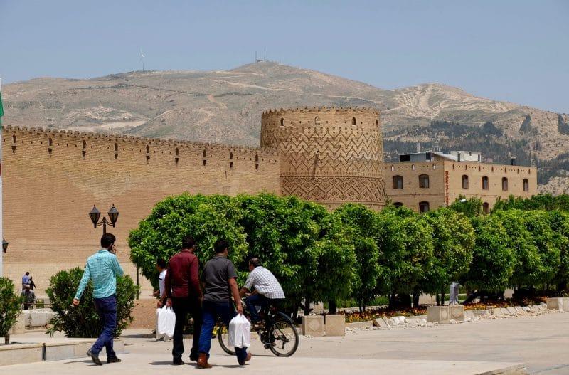 Viaggio in Iran - Shiraz - fortezza di Arg-e Karim Khan