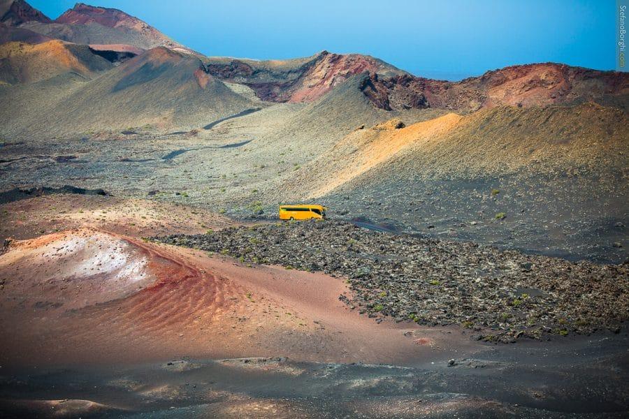 Lanzarote - vulcani di Timanfaya