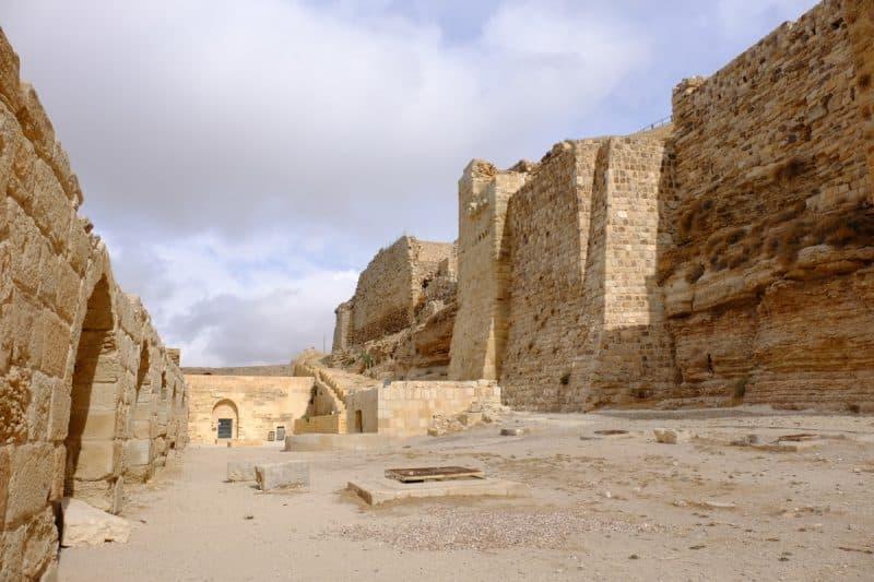 Giordania - castello di Karak