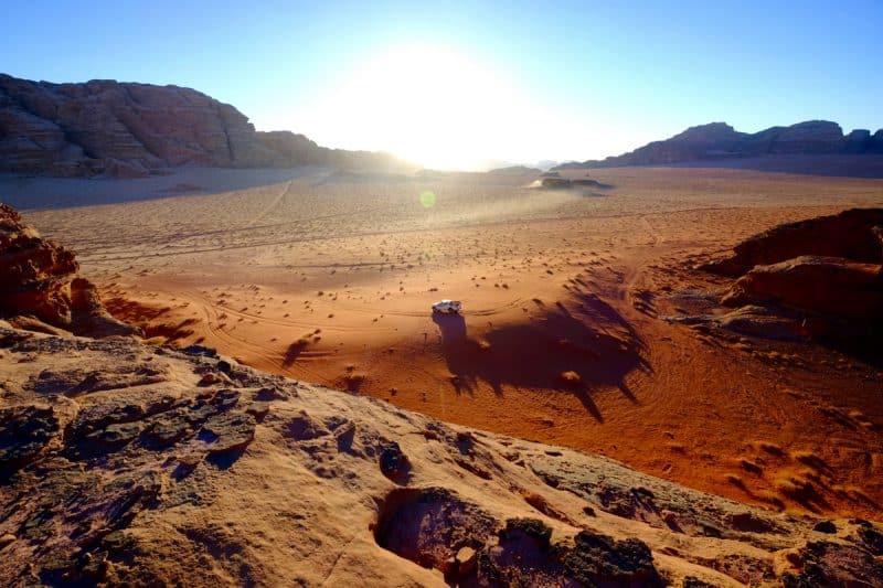 Giordania - deserto del Wadi Rum