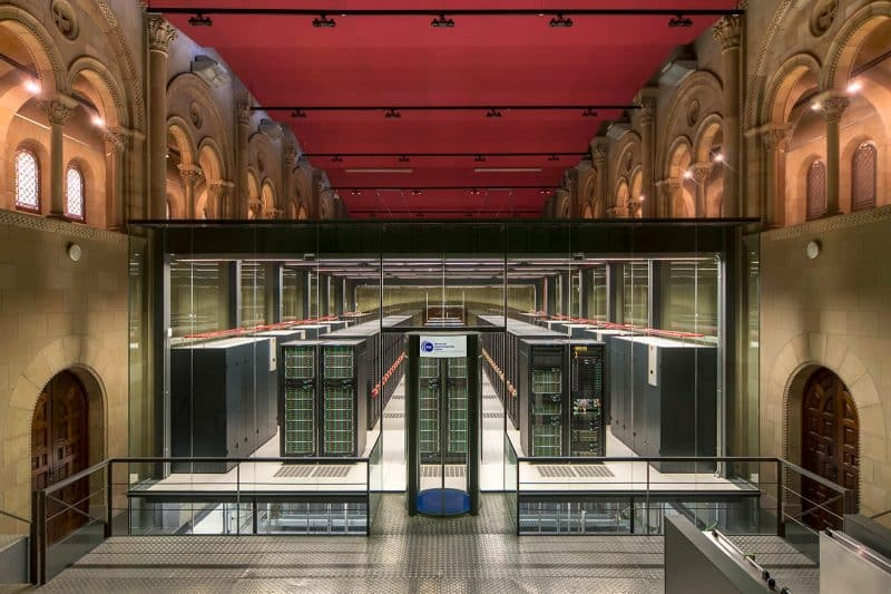 Barcellona insolita - Barcelona supercomputing center