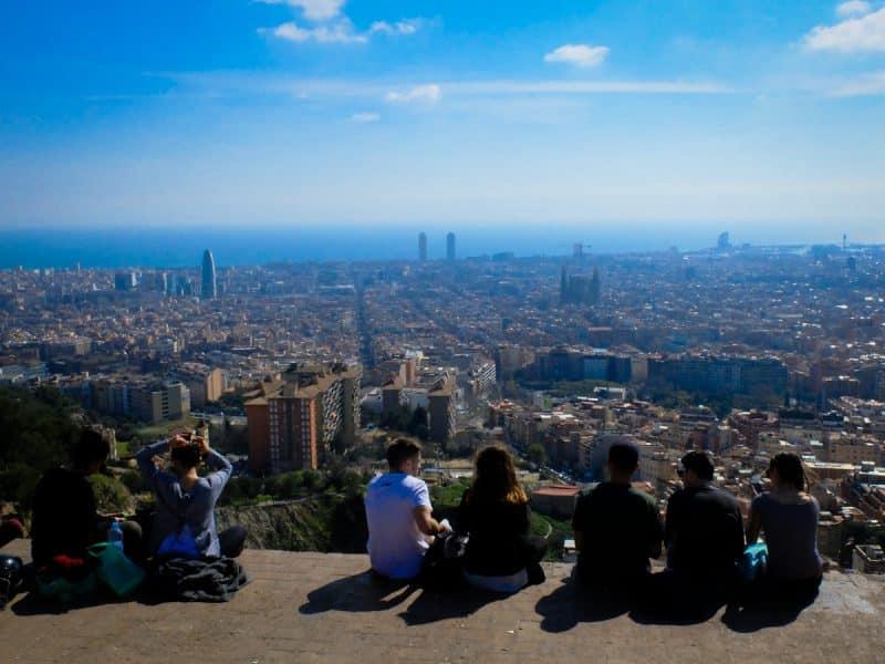 Barcellona insolita - Bunker del Carmel