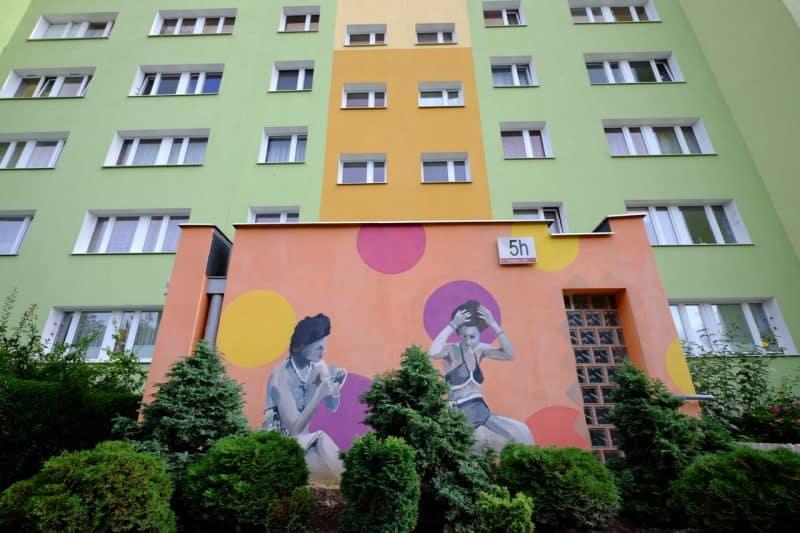 Danzica - Zaspa Street Art