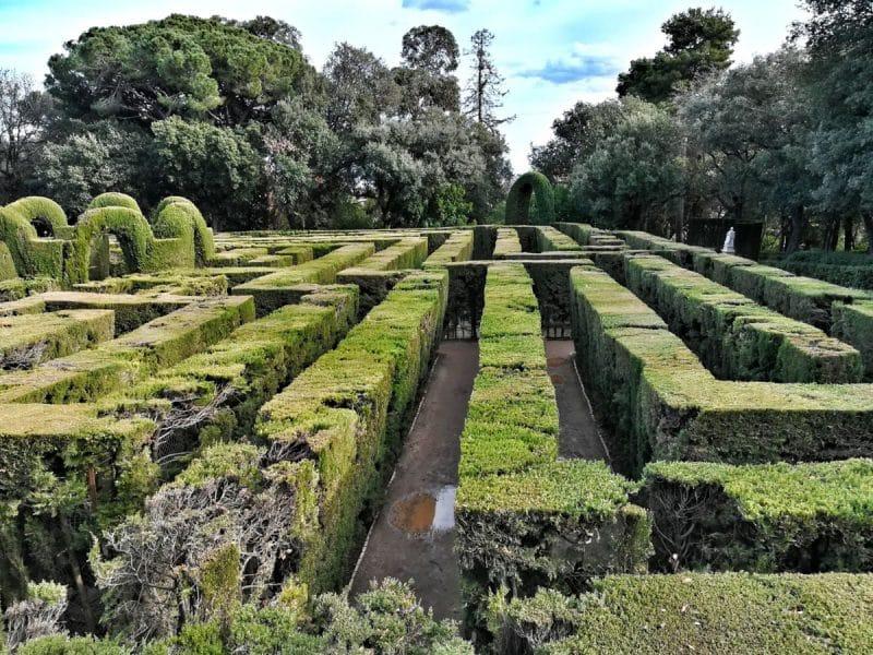 Barcellona insolita - labirinto d'Horta