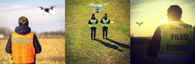 Eyedrone scuola di volo per droni certificata ENAC