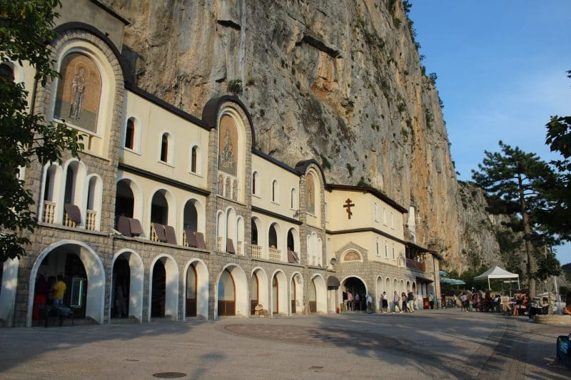 Montenegro- monastero di Ostrog