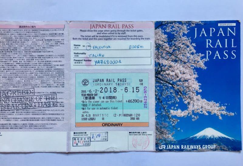 Come spostarsi in Giappone: il Japan Rail Pass