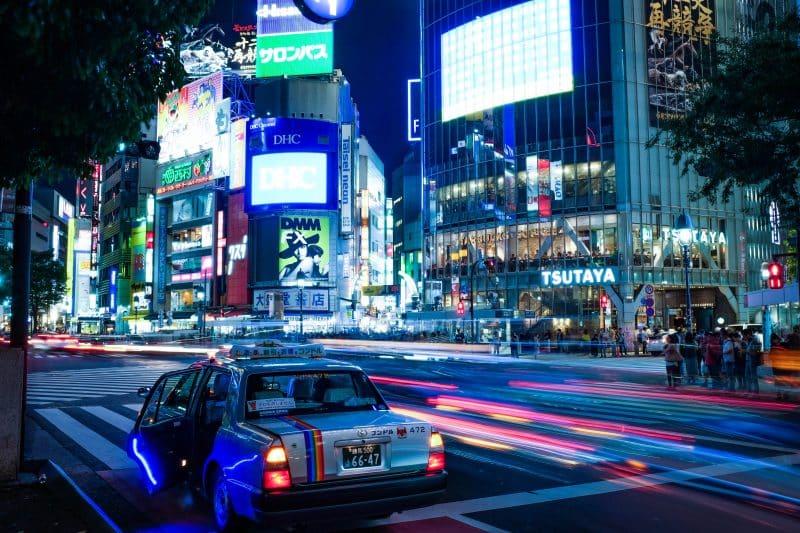 Come spostarsi in Giappone: i taxi