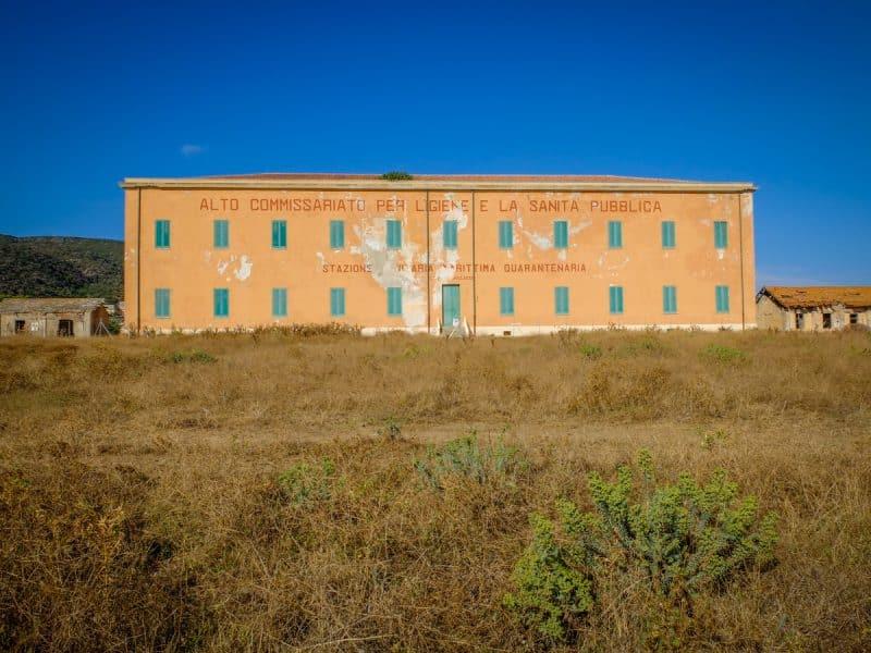 il carcere dell'asinara