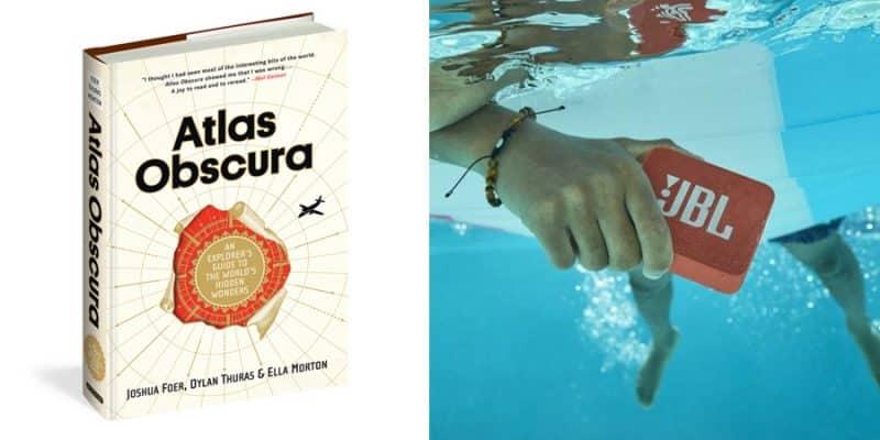 libro atlas obscura e jbl go 2 in regalo