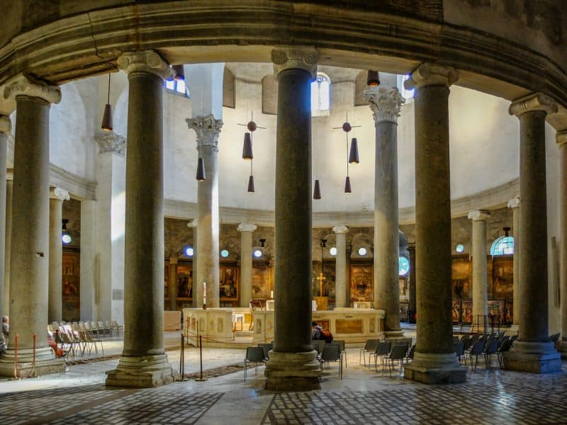 Roma insolita - Santo stefano rotondo
