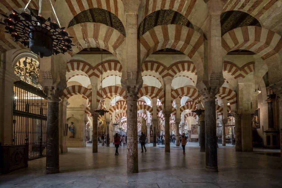 Cordoba - interno della Mezquita