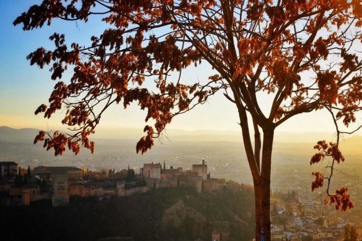 Granada - mirador di San Miguel Alto