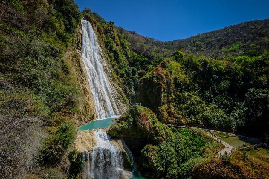 Chiapas- cascate di Chiflon