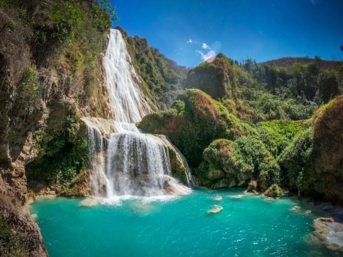 Chiapas-cascate Chiflon