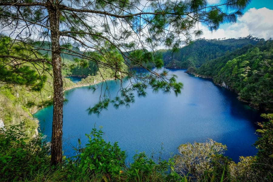 Chiapas- lago Montebello