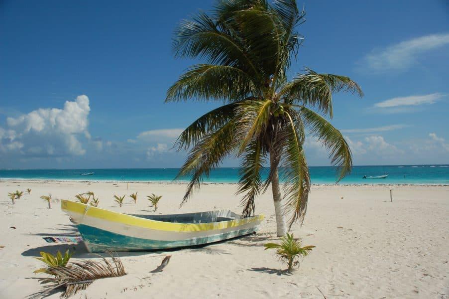 Tulum - spiaggia