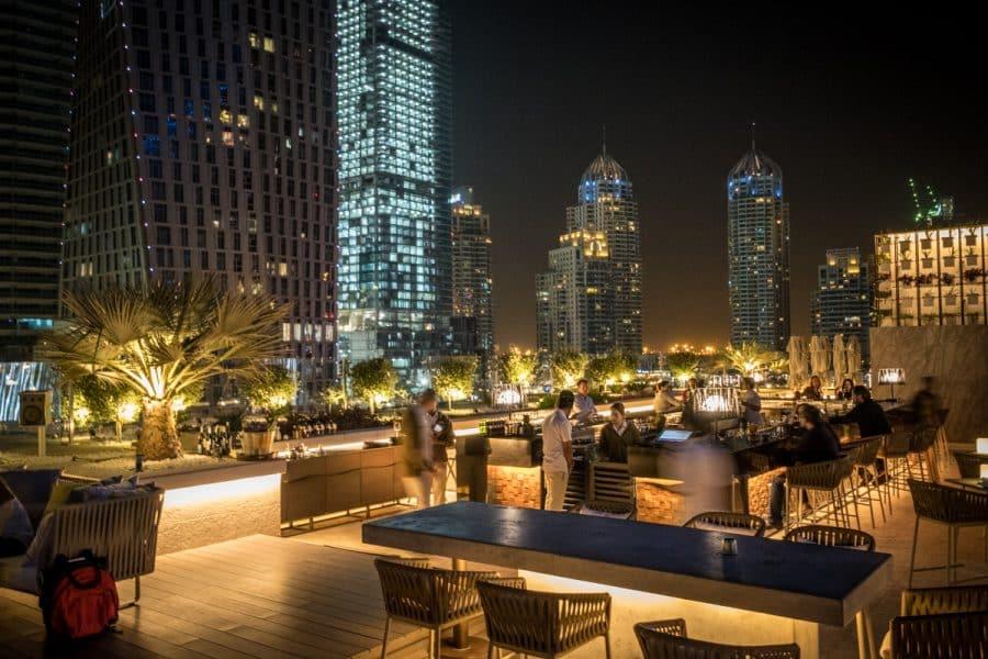 Dubai - rooftop