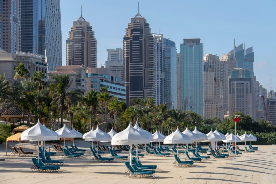 Dubai - spiaggia