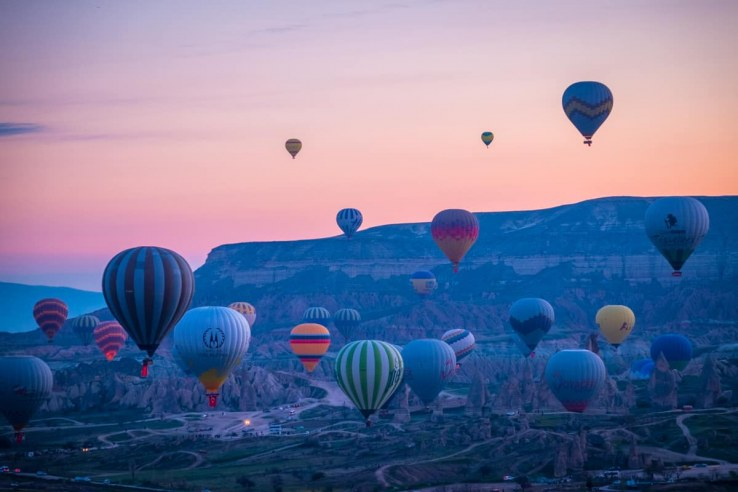 Cappadocia - Goreme- mongolfiere