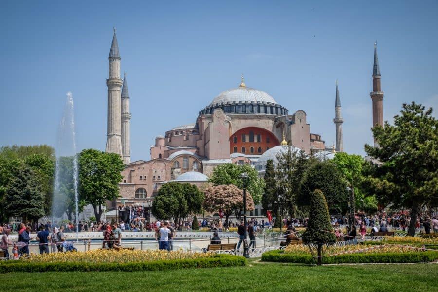 Istanbul - Aya Sofia