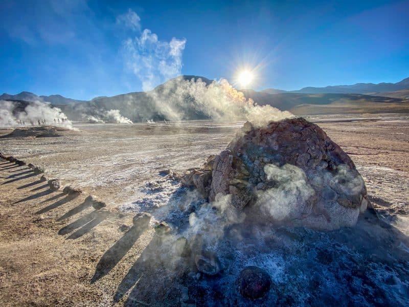 San Pedro de Atacama - Geiser del Tatio