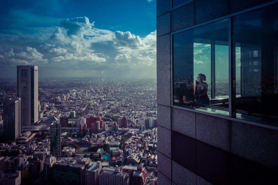Cosa vedere a Tokyo - vista dall'alto