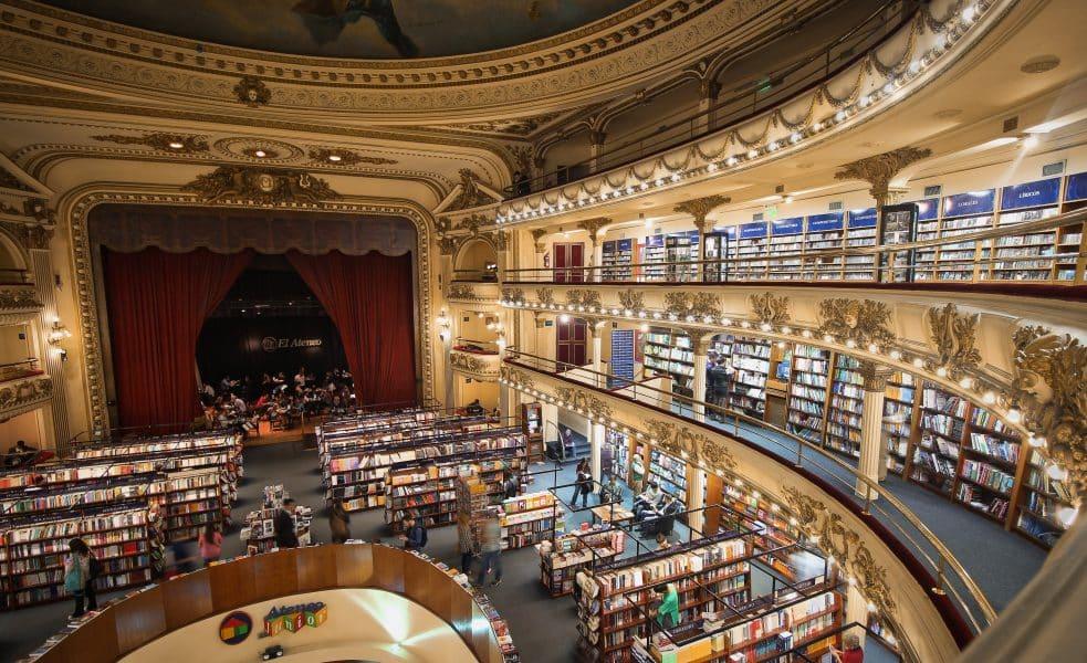 Buenos Aires - libreria El Ateneo