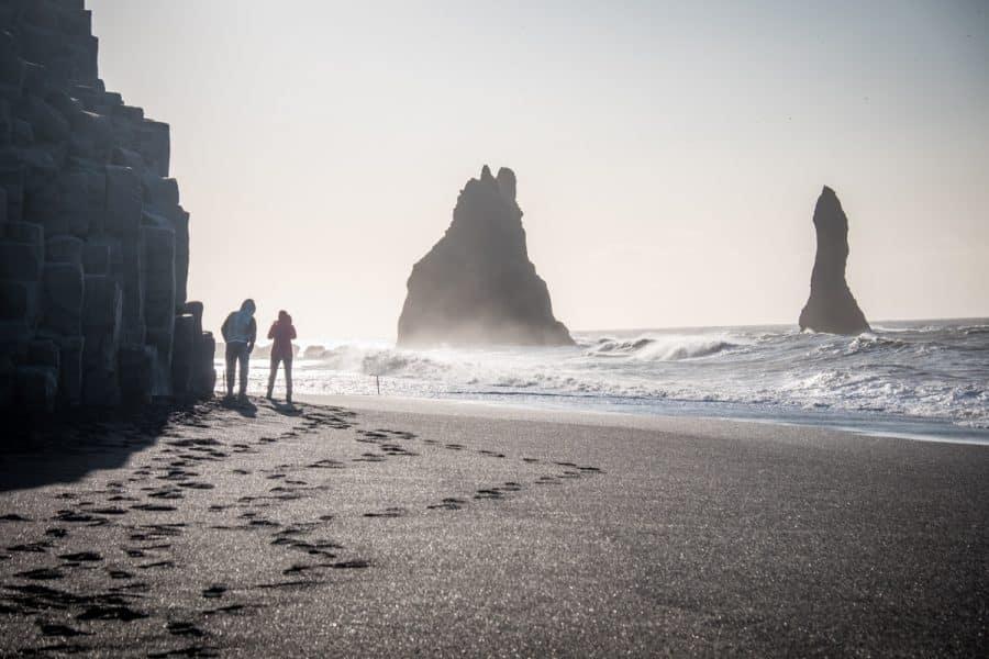 Islanda - black beach